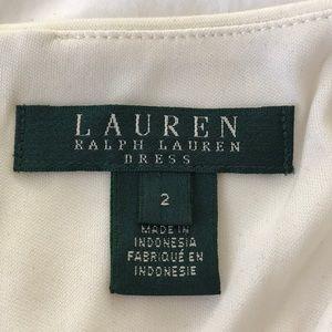 Ralph Lauren Dresses - Ralph Lauren cream and black dress Small